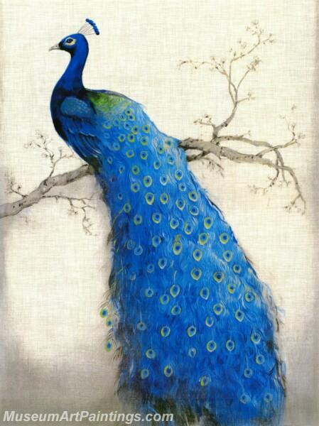 Peacock Oil Paintings PMP031