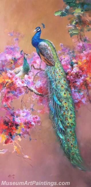 Peacock Paintings DMP01