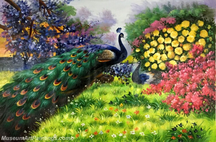 Peacock Paintings PDM010