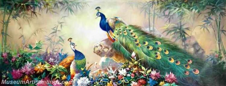 Peacock Paintings PDM011