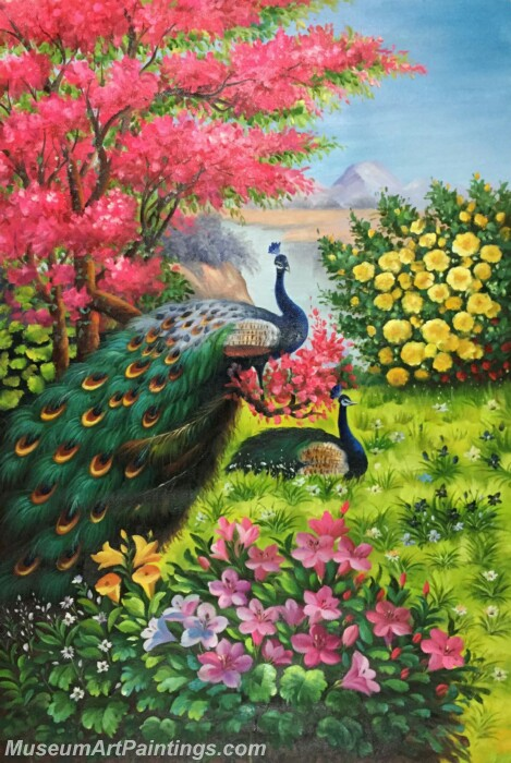 Peacock Paintings PDM02