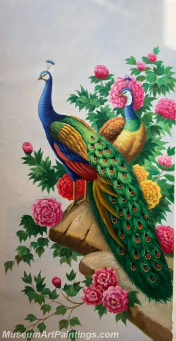 Peacock Paintings PDM06