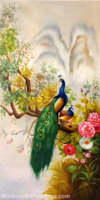Peacock Paintings PDM09