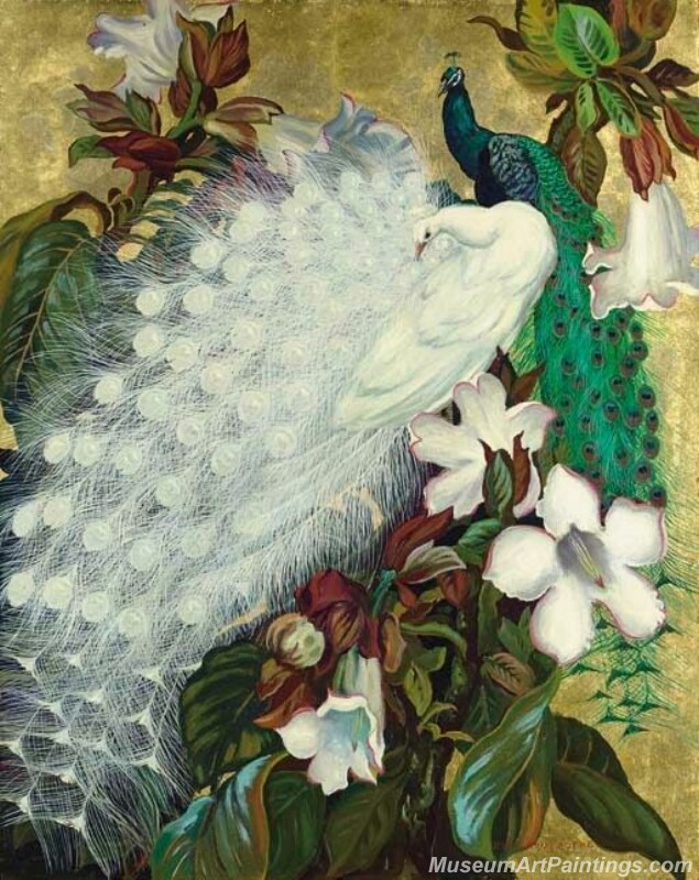 Peacocks Paintings for Sale PDM014