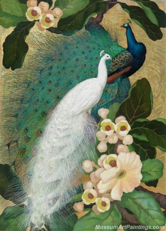 Peacocks Paintings for Sale PDM017
