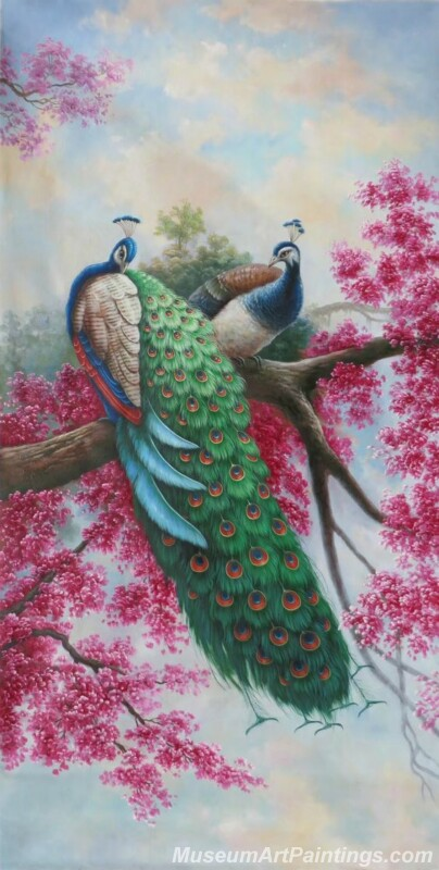 Peacocks Paintings for Sale PDM030