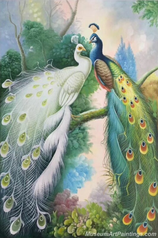 Peacocks Paintings for Sale PDM032