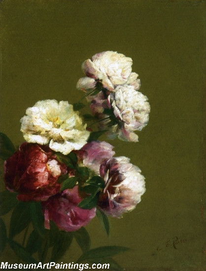 Peonies in a Bowl 1