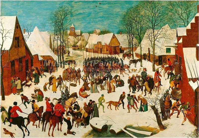 Pieter Bruegel the Elder The Massacre of the Innocents