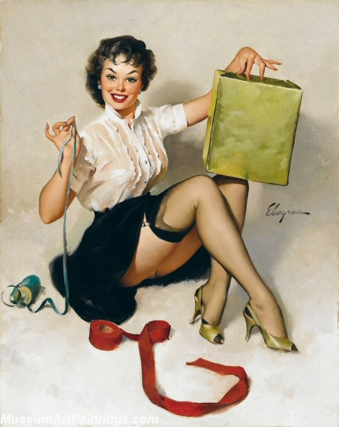 Pin Up Paintings A Neat Package