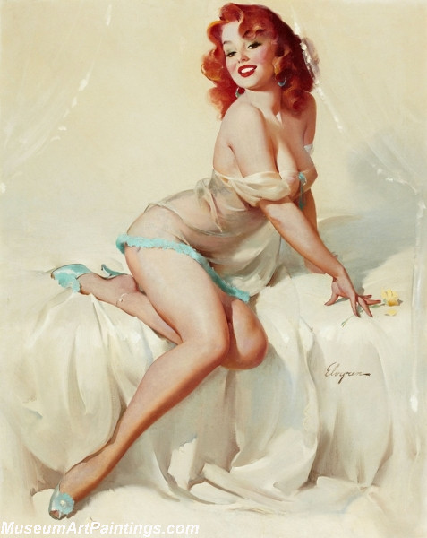 Pin Up Paintings Bedside Manner