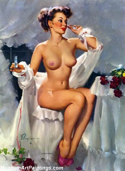 Pin Up Paintings Captivating