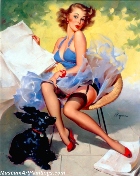 Pin Up Paintings Hold Everything