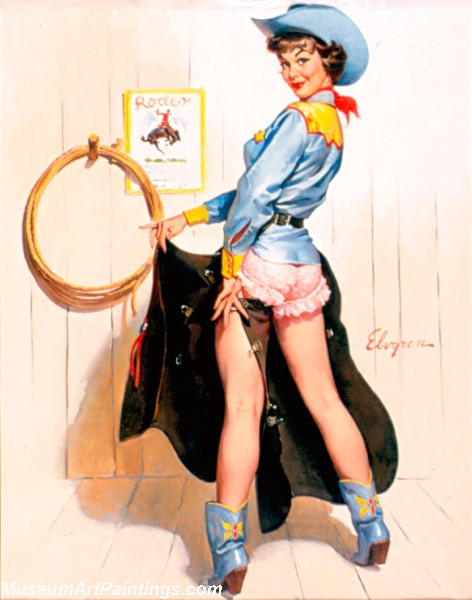 Pin Up Paintings Lucky Chaps