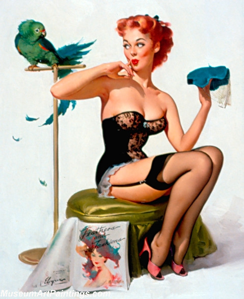 Pin Up Paintings No You Do not