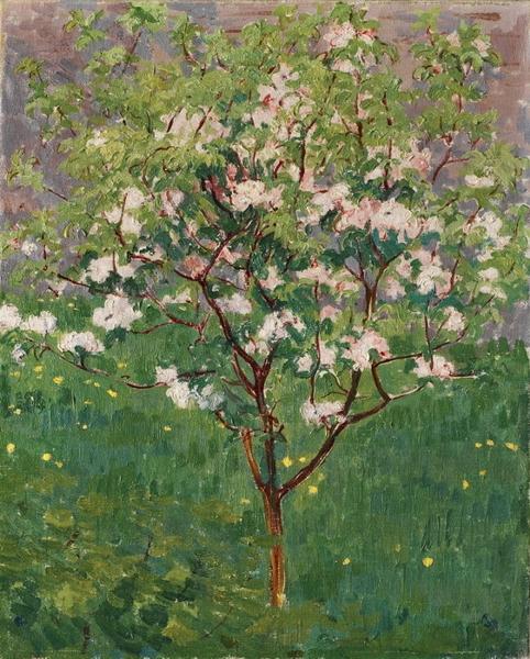 Pomo fiorito by Giovanni Giacometti