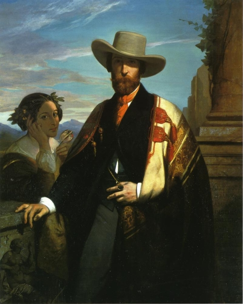 Portrait of Alfred Bruyas by Auguste Glaize