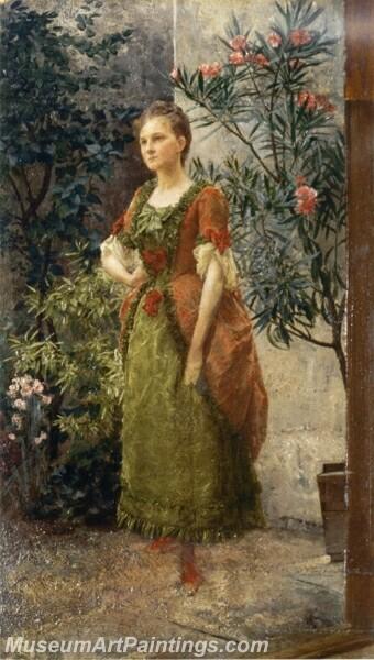Portrait of Emile Floge Painting
