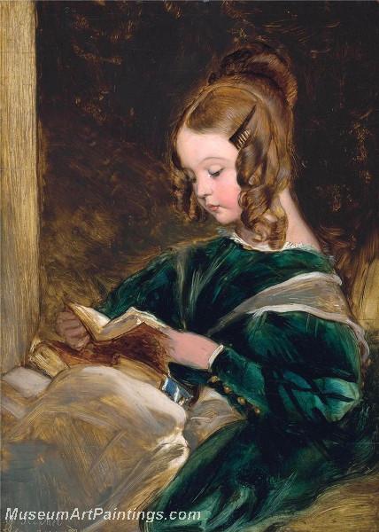 Portrait of Rachel Russell by Sir Edwin Landseer