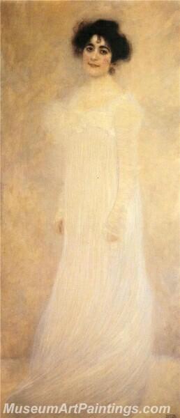 Portrait of Serena Lederer Painting