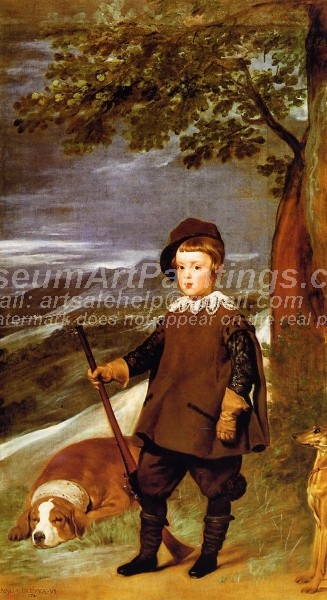 Prince Baltasar Carlos as a Hunter