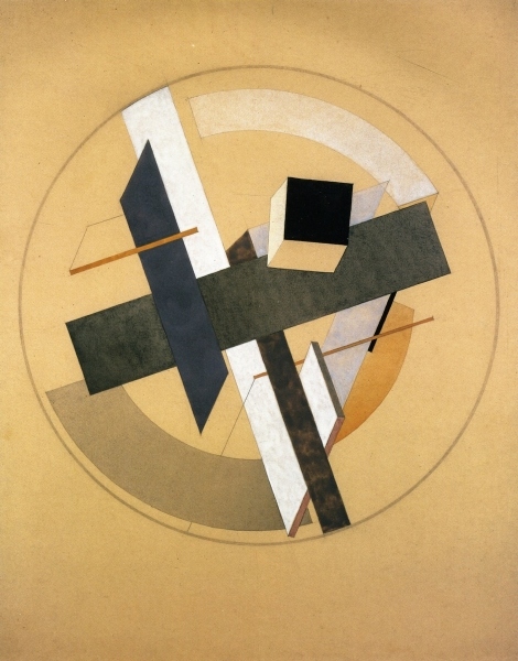 Proun aii by el lissitzky