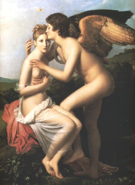 Psyche and Amour by Baron Francois Gerard