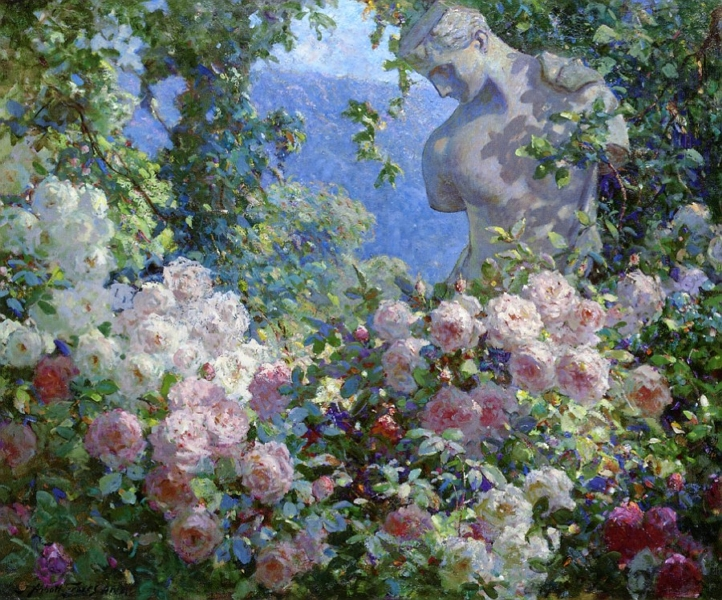 Psyche in the Garden by Abbott Fuller Graves