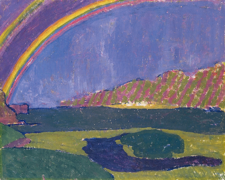 Rainbow by Giovanni Giacometti