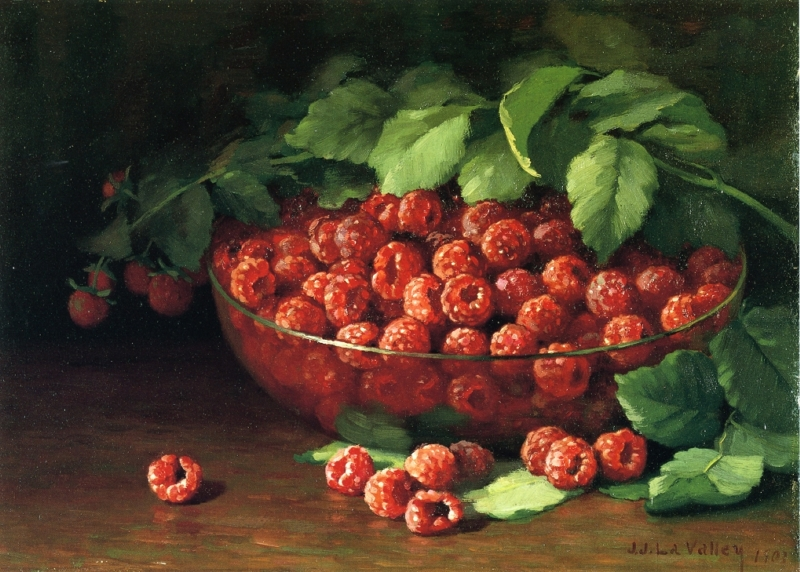 Raspberries by Jonas Joseph LaValley
