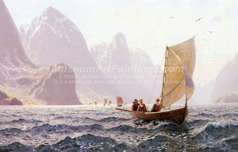 Regatta on a Norwegian Fiord