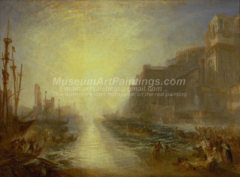 Regulus Painting by Joseph Mallord William Turner