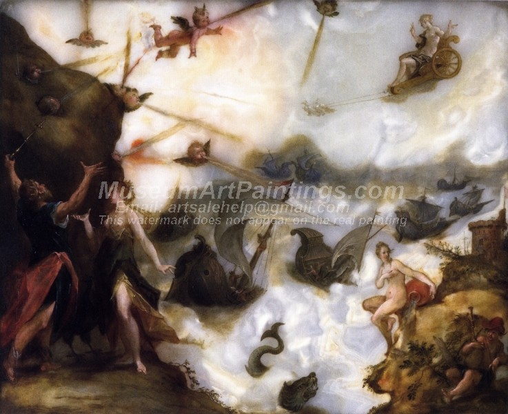 Religious Oil Paintings Aeolus Releasing the Winds