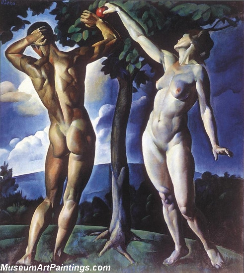 Religious Paintings Adam and Eve