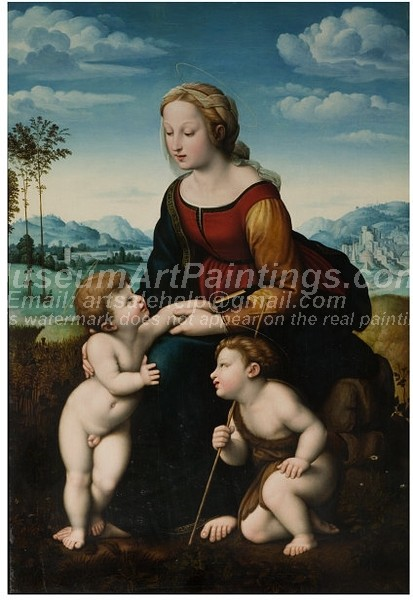 Religious Paintings The Madonna of Leo X