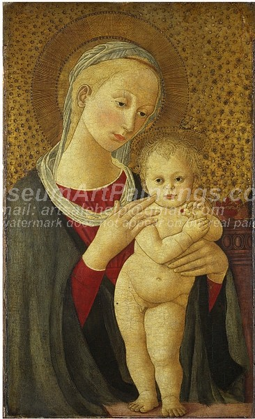 Religious Paintings The Virgin and Child
