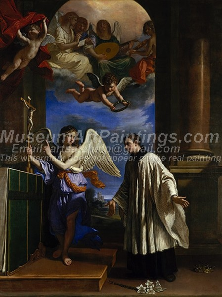 Religious Paintings The Vocation of Saint Aloysius Gonzaga