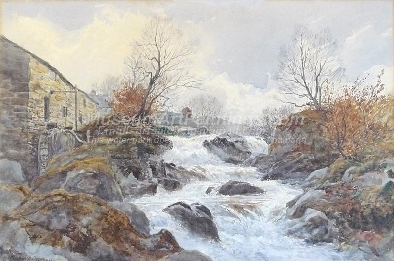 River in spate