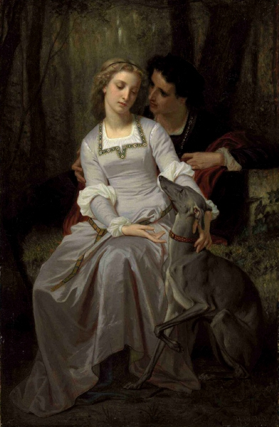 Romeo and Juliet by Hugues Merle