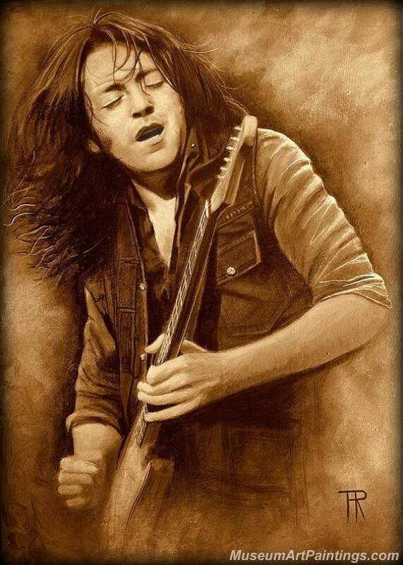 Rory Gallagher Art Paintings 01