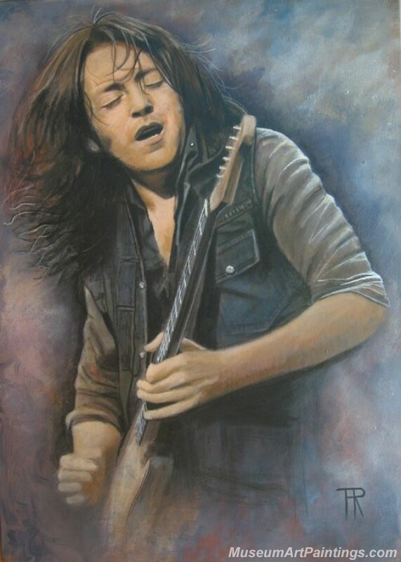 Rory Gallagher Art Paintings 02