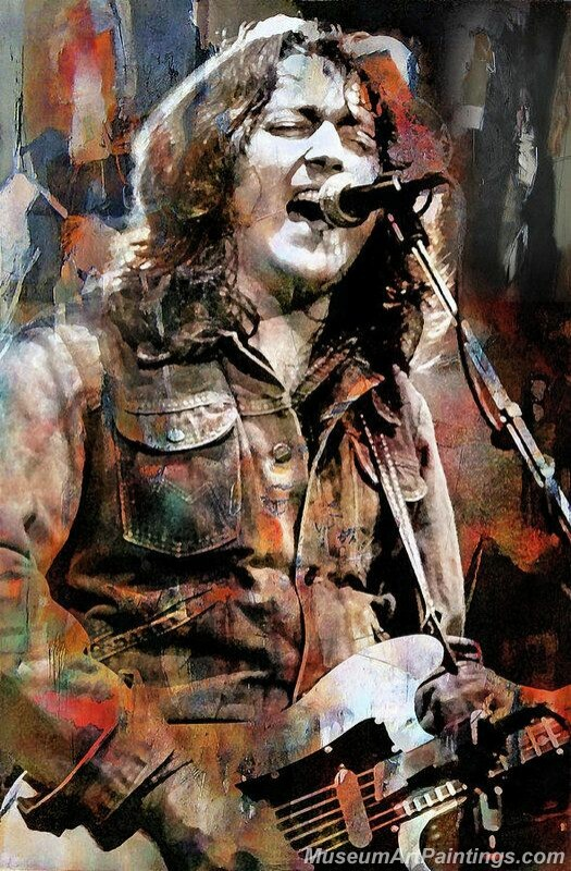 Rory Gallagher Art Paintings 04