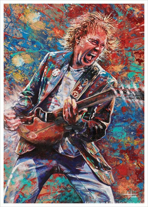 Rory Gallagher Art Paintings 08
