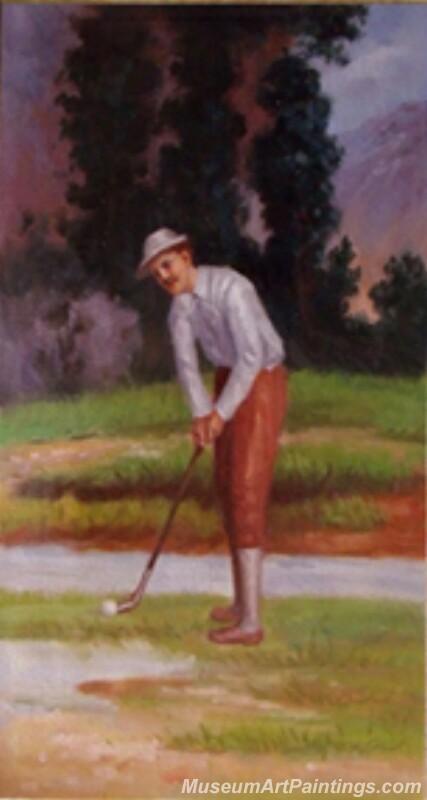 Rory Mcilroy Paintings Golf Paintings ART0026
