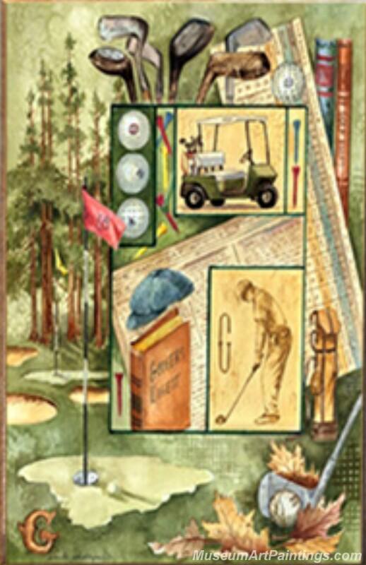 Rory Mcilroy Paintings Golf Paintings ART0034B