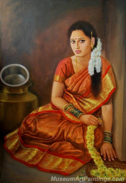 Rural Indian Women Paintings 052