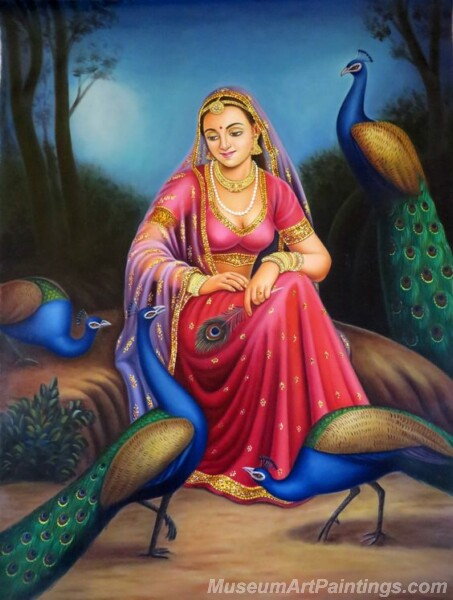 Rural Indian Women Paintings 053