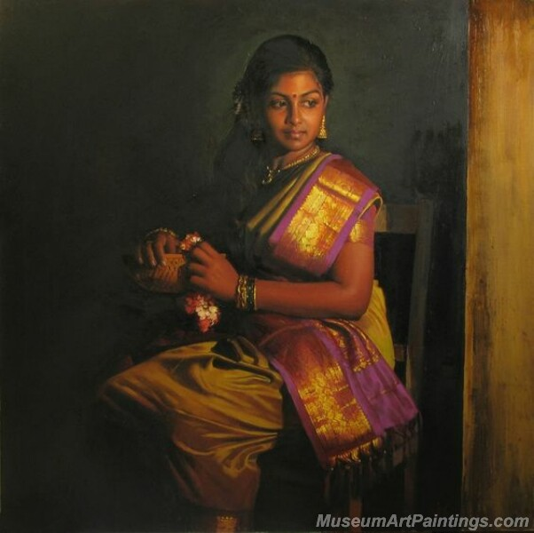 Rural Indian Women Paintings 054