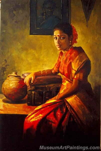 Rural Indian Women Paintings 064