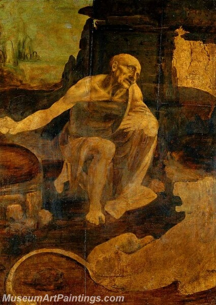 Saint Jerome Painting